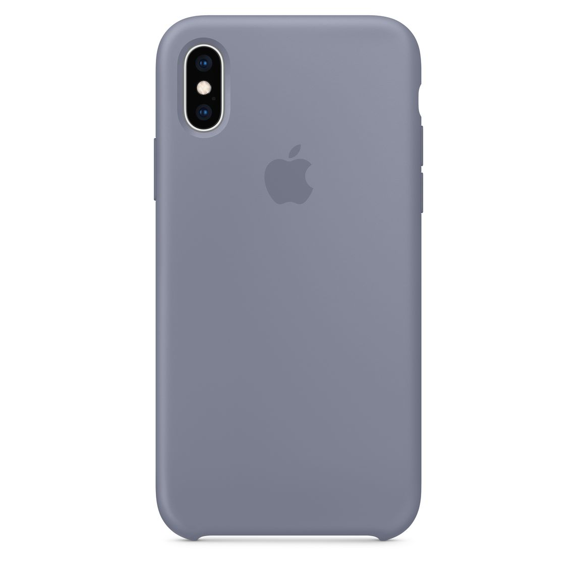 promo code 75703 22f28 iPhone XS Silicone Case - Lavender Grey