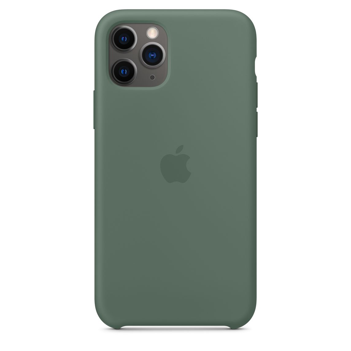 iPhone 11 Pro Silicone Case - Pine Green