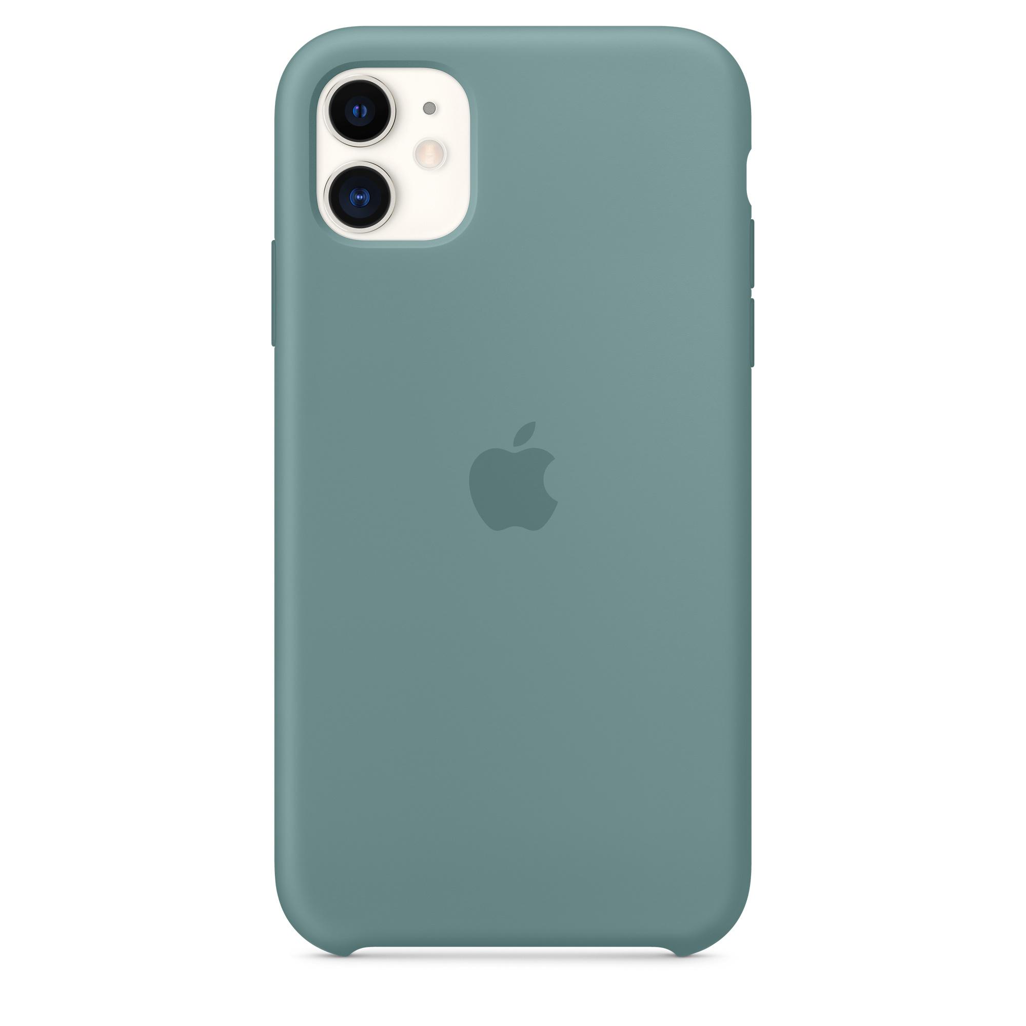 Iphone 11 Silicone Case Cactus Apple My