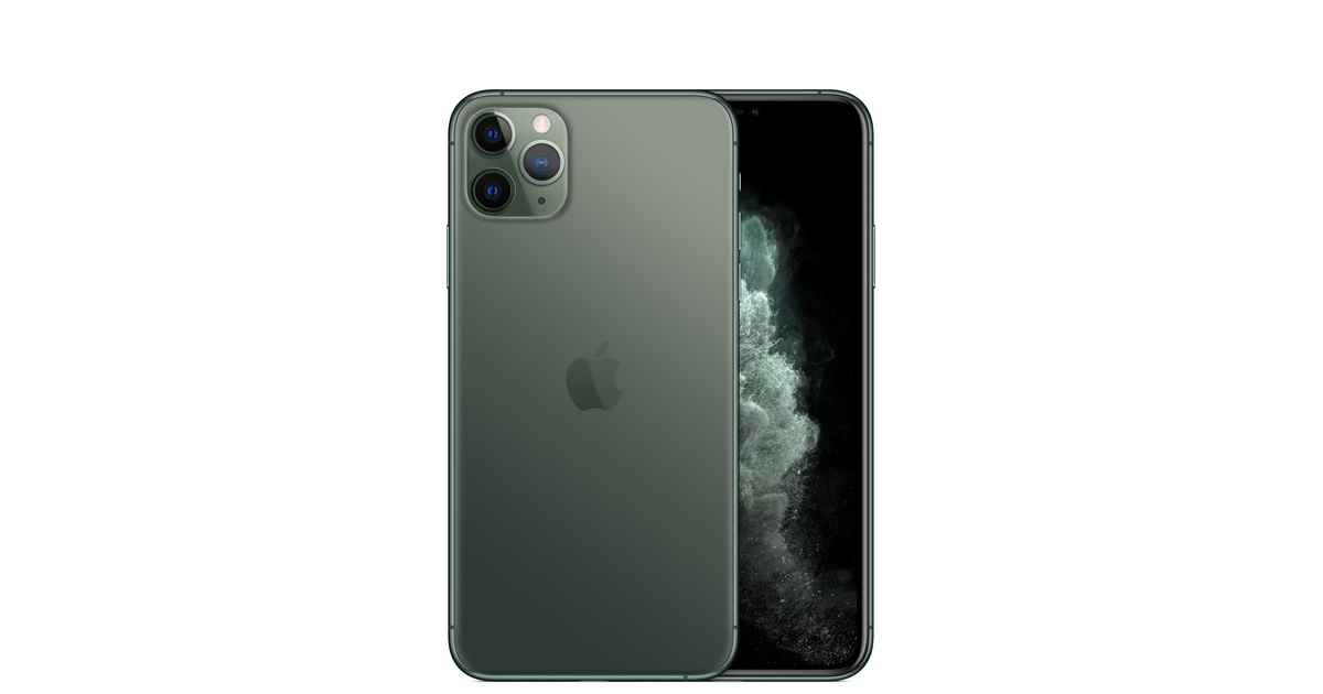 iphone 11 pro max 256gb midnight green apple sg. Black Bedroom Furniture Sets. Home Design Ideas