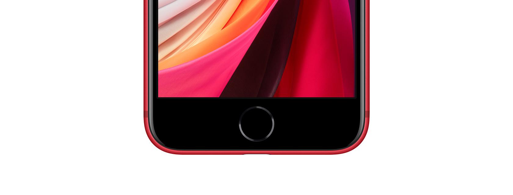 iPhone SE (2020) 保留了 Touch ID 指纹辨识