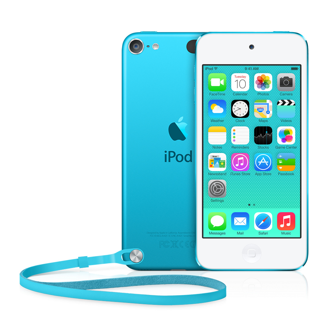Refurbished iPod touch 16GB - Blue (5th generation)